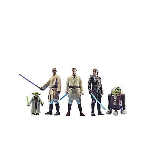 Star Wars Celebrate The Saga Spielzeuge Orden der Jedi Action-Figuren Set, 9,5 cm große Sammelfiguren...