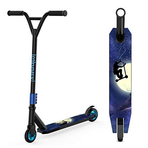 IMMEK Stunt Scooter Teenager Trick Roller Robuster Funscooter 360° Lenkung Sports mit ABEC-9 Kugellagern...
