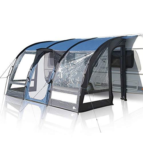 your GEAR Wohnwagenvorzelt Verona 390 Caravan Zelt Teilvorzelt UV 50+ Schutz wasserdicht 5000mm...
