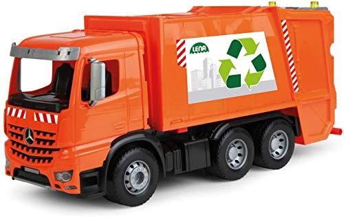 Lena 4614 x Worxx Müllauto Mercedes Benz Arocs, Spielauto ca. 53 cm, Nutzfahrzeug für Kinder ab 3...