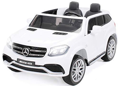 Actionbikes Motors Kinder Elektroauto Mercedes GLS63 Allrad Leder Sitz Kinderfahrzeug Kinderauto 45 Watt...
