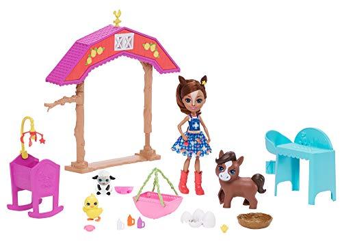 Enchantimals GJX23 Enchantimals GJX23 - Pferdespaß-Kindergarten mit Haydie Horse & Trotter Mehrfarbig