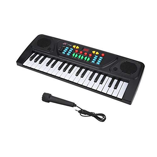 Keyboard Kinder ab 8 Jahre, Unibell 37 Schlüssel Multifunktionale elektronische Keyboard Musikerziehung...