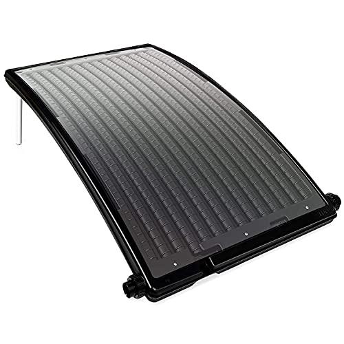 VINGO Poolheizung Sonnenkollektor Schwarz 110 x 69 x 14 cm Speedsolar Solarheizung für Pool...
