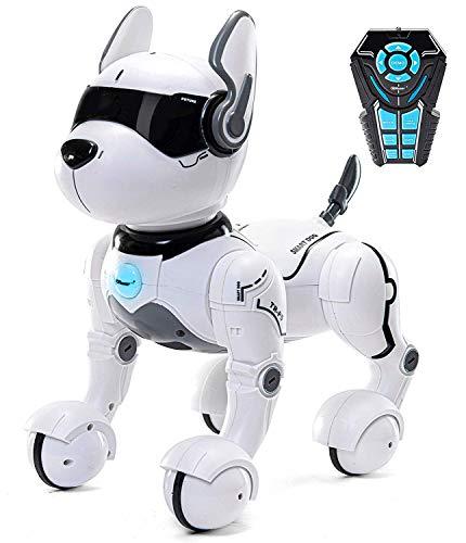 Top Race Fernbedienung Hund Smart Mini Pet Tanzt zum Beat Welpen Hunde & Imitate Tiere-RC Roboter...