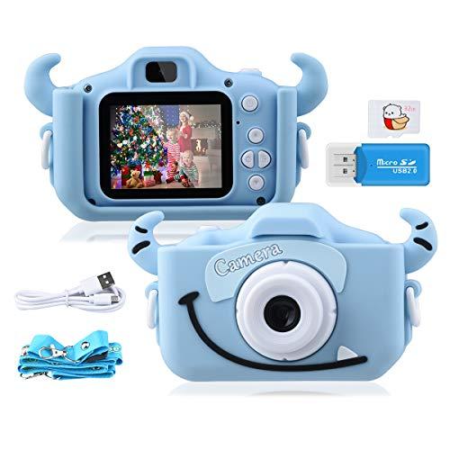 """Kinder Kamera, GREPRO 2.0""""Display 1080P HD Digitalkamera für 4 5 6 8 7 9 10 Jahre alt mädchen und..."""