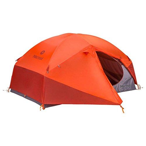 Marmot Trekking Zelt Limelight 2P, Cinder/Rusted Orange, 2 Personen, 27930
