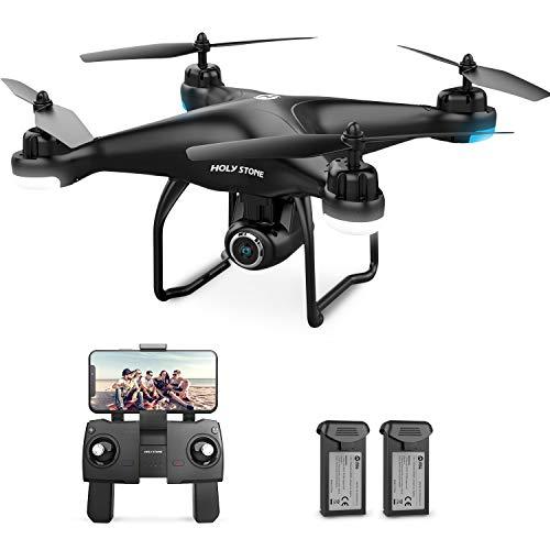 Holy Stone GPS Drohne HS120D mit 2K Kamera HD Live Video,Follow Me für Anfänger,RC Quadrocopter...
