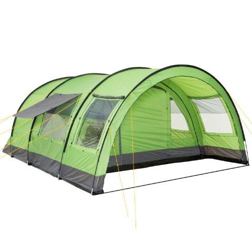 CampFeuer Tunnelzelt für 6 Personen Relax6 | Variables Tunnelzelt mit abtrennbarer Schlafkabine und...
