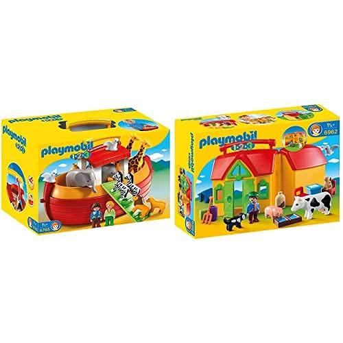 Playmobil 6962 - Mein Mitnehm Bauernhof & 6765 - Meine Mitnehm-Arche Noah