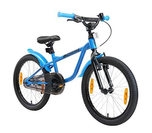LÖWENRAD Kinderfahrrad für Jungen und Mädchen ab 6 Jahre | 20 Zoll Kinderrad mit Bremse | Fahrrad für...