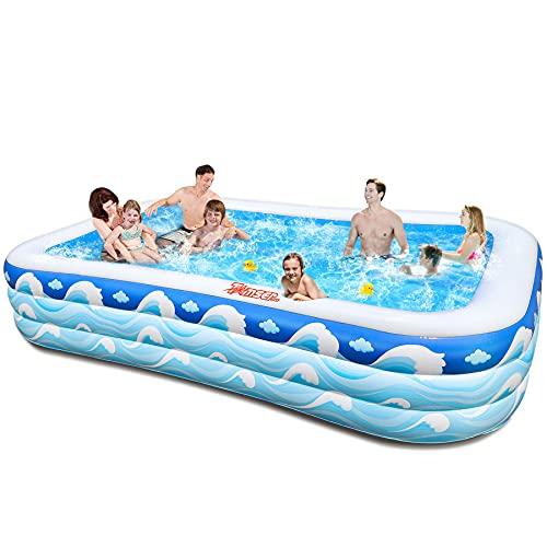 tomserAufblasbarerPool,SchwimmbäderFürFamilieundKinderErwachsene,3...