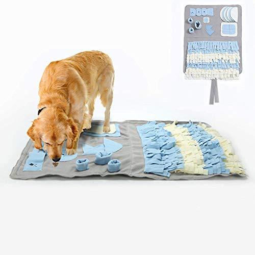 Schnüffelteppich für Hunde Schnüffelrasen Hund Schadstofffreies Hundespielzeug Fördert Natürliche...