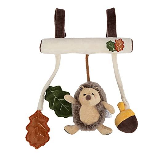 Bieco Kinderwagen Kette Design Igel | ca. 30x21 cm | Maxi Cosi Spielzeug, Mobile Babybett oder für Baby...
