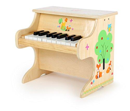 small foot 10724 Klavier Kleiner Fuchs, aus Holz,  Kinderinstrument mit einer Tonleiter für erste...