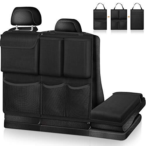FINPAC Auto Rücksitz Organizer Kofferraum Organizer Auto - abnehmbare Auto Rückenlehnenschutz mit...