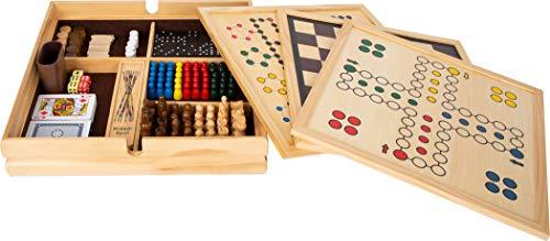 Holz-Spielesammlung '20 klassische Gesellschaftsspiele' von Small Foot