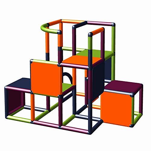 Moveandstic 875056 - Grundbaukasten Profi grün apfelgrün Titan grau rot (titangrau apfelgrün orange...
