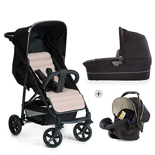 Hauck Kombi Kinderwagen Rapid 4 Plus Trio Set / für Babys ab Geburt / Wanne inkl. Matratze / Reise...