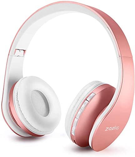 ZAPIG Premium Kinderkopfhörer, Bluetooth Kopfhörer für Kinder mit Gehörschutz, Leichte Kinder...