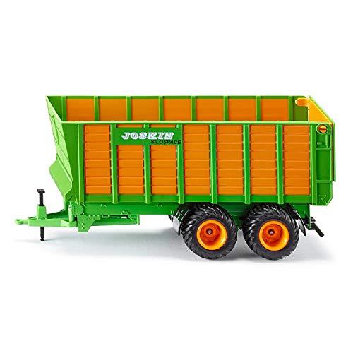 siku 2873, Silagewagen, 1:32, Metall/Kunststoff, Orange/Grün, Bewegliche Teile
