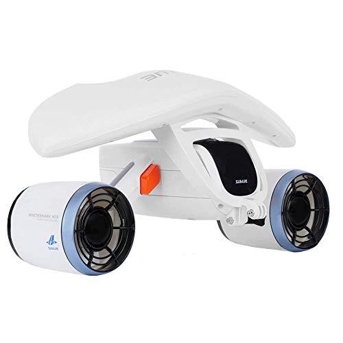 Sublue WhiteShark Mix Unterwasserscooter Dual Motoren, Action Kamera kompatibel, Wassersport Schwimmbad...