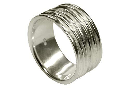 SILBERMOOS XL XXL Ringe in großen Größen Ring Damenring Herrenring Partnerring Bandring glänzend matt...