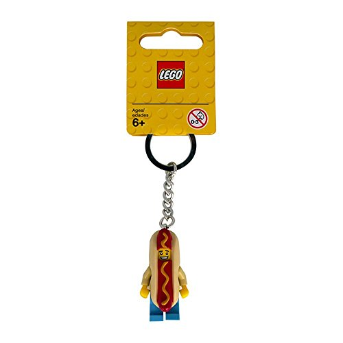LEGO 853571 - City Mann im Hot-Dog-Kostüm Schlüsselanhänger