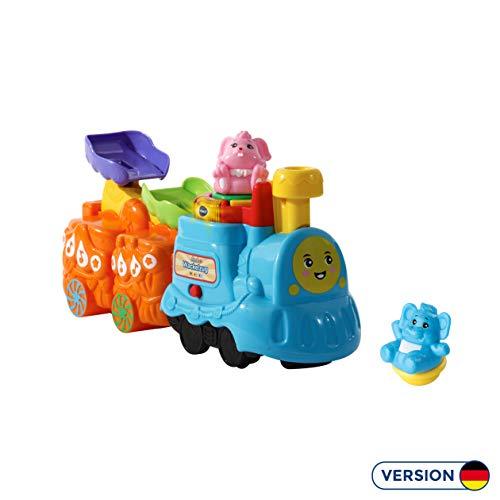 Vtech 80-516504 ZoomiZooz - Wackelzug, Babytiere, Mehrfarbig