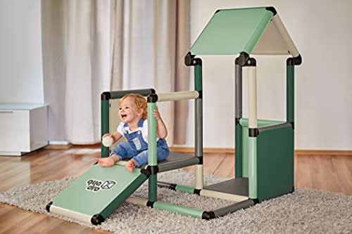 Quadro | Adventure Home | Klettergerüst für drinnen und draußen | Fördert Entwicklung von Kindern |...