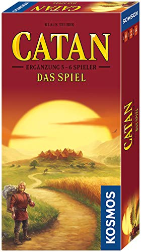 KOSMOS - CATAN - Ergänzung für 5-6 Spieler, neue Edition, Strategiespiel