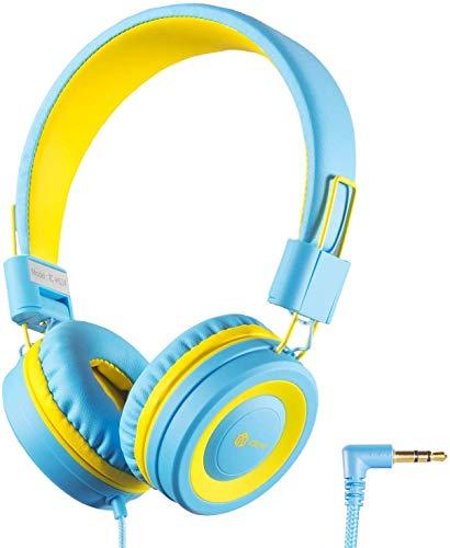 Kinder Kopfhörer, Kabel Kopfhörer für Kinder, Verstellbares Stirnband, Stereo Sound, Faltbare,...
