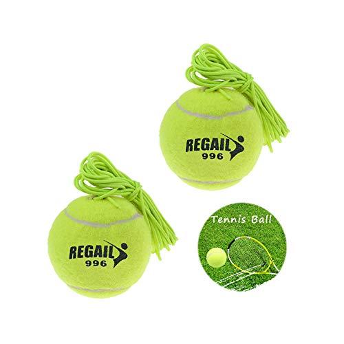 Ziyero 2 Stück Hohe Elastizität Practice Ball Tennisball fürs Training Trainingsball Tennis...