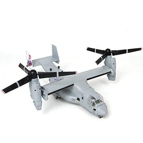 XWEM Flugzeug-Modell Spielzeug, 1/72 V-22 Osprey Hubschrauber Militär Modell Spielzeug Diecast...