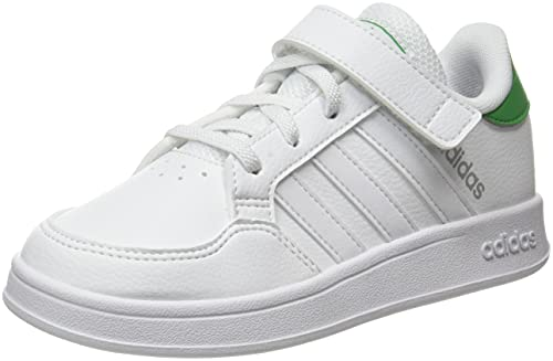 adidas Breaknet C, Tennisschuhe, Mehrfarbig (Ftwbla Ftwbla Verint), 35 EU