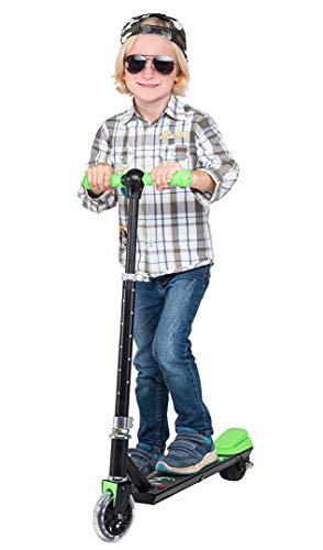 eFlux Flash Elektroroller Scooter - 100 Watt Motor - Bis 6 km/h - 4 Km Reichweite - Nur 3,5 Kg Gewicht -...