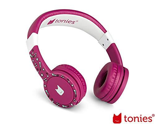 Tonie-Lauscher Beere: Kinder Kopfhörer passend zur Toniebox - Lautstärke reguliert, Abnehmbares Kabel,...