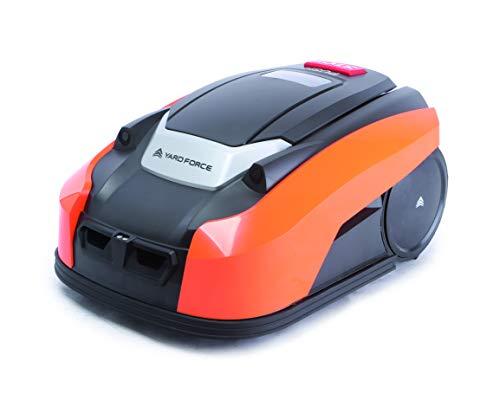 Yard Force X60i Mähroboter mit App-Steuerung - Selbstfahrender Rasenmäher Roboter mit Regensensor -...