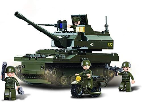 Sluban SL93889, Panzer I (258 Teile) [M38-B9800], Spielset, Klemmbausteine, Soldaten, mit Spielfigur,...