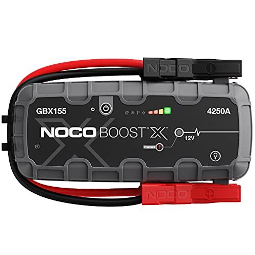 NOCO Boost X GBX155 4250A 12V UltraSafe Starthilfe, Tragbare Auto Batterie Booster, Powerbank-Ladegerät,...