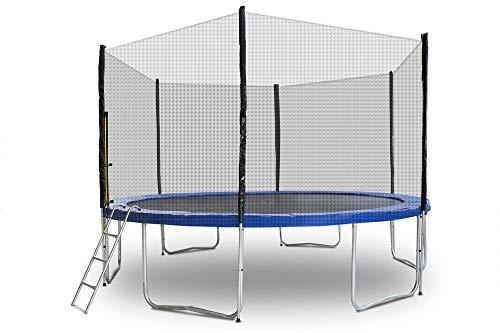 ms-point Gartentrampoline Trampoline Outdoor-Trampoline Fitness-Trampoline 400cm, inkl. Randabdeckung,...