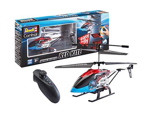 Revell 23834 RC Hubschrauber Motion Control Heli Red Kite, 2.4GHz, Steuerung über Bewegung, Akku,...