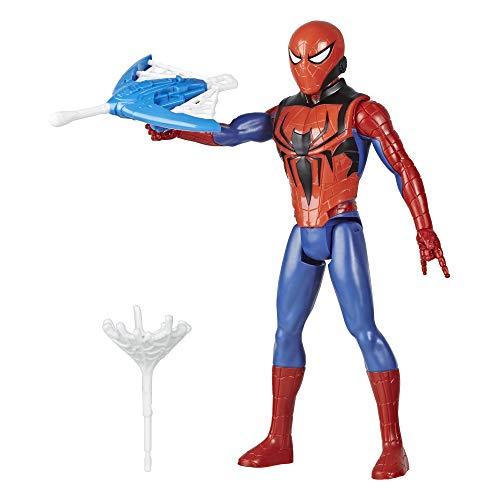 Hasbro Marvel E7344 Marvel Titan Hero Serie Blast Gear Spider-Man Action-Figur, 30 cm großes Spielzeug,...