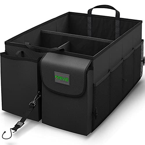 Drive Auto Products, Auto Organizer - Kofferraum Organizer - Kofferraumtasche mit Spanngurten -...
