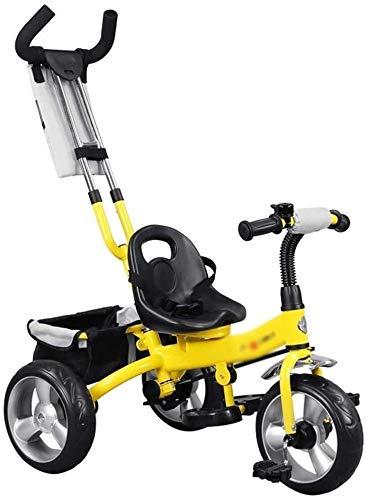 Xiaoyue Fahrräder Kinderwagen Kinderfahrrad Kinder Dreirad Fahrrad 3~9 Jahre alt Kinder Tricycle Indoor...