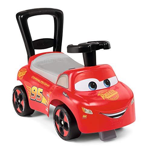 Smoby 720523 Mein erstes Auto Rutscherfahrzeug Cars, Kinderfahrzeug mit Staufach und Kippschutz, für...