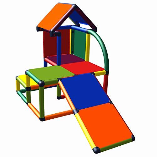 move and stic Mila Spielhaus mit Kleinkindrutsche für Kinderzimmer oder Spielzimmer genauso geeignet wie...