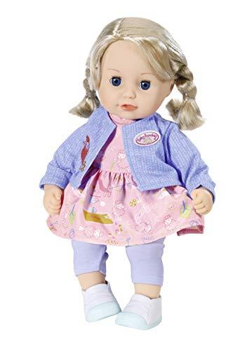 Zapf Creation 704264 Baby Annabell Little Sophia Puppe mit Haaren und Schlafaugen 36 cm, Online...