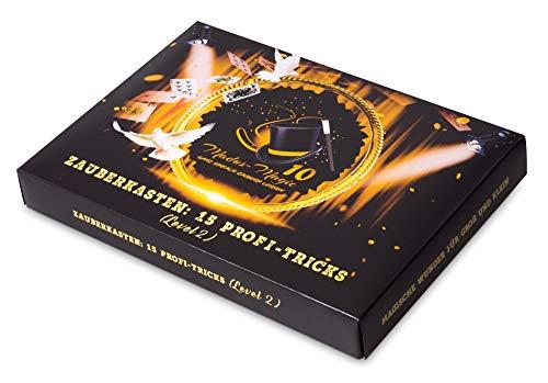 Madus-Magic Premium Zauberkasten 2 für Kinder ab 10 Jahre und Erwachsene | Zaubern Lernen | Zaubertricks...