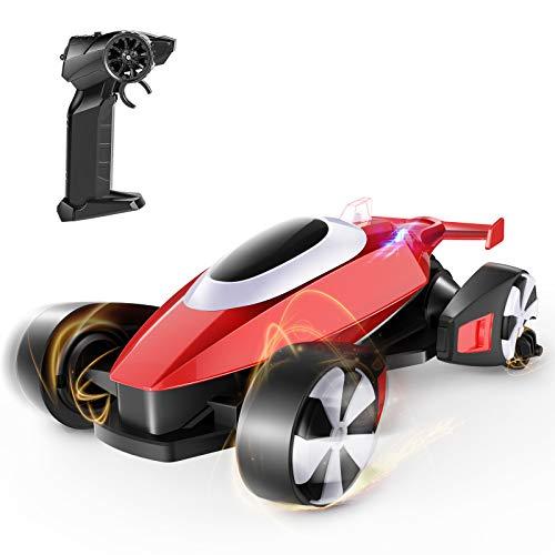 tech rc Ferngesteuertes Auto Drift RC Rennauto A/B Dual Fahrmodus 5-Kanal 360° Rotating 2,4 GHz Stunt...